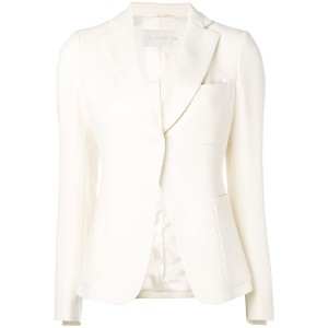L'Autre Chose chest pocket fitted blazer - ホワイト