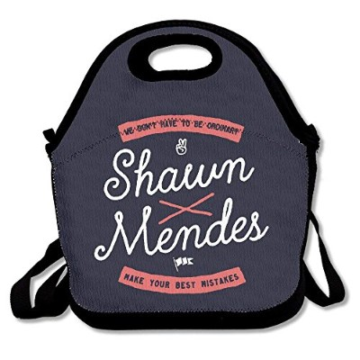 Shawn Mendes Life of the Party Insulated Lunchバッグキャリーバッグ