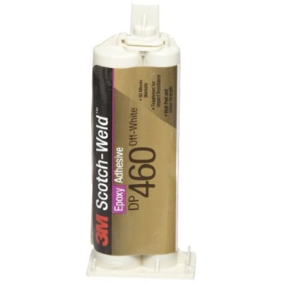 3M Scotch-Weld Epoxy Adhesive DP460 Off-White, 1.25 fl oz (Pack of 1) by 3M