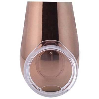 XPAC 350ml 2pc Copper Plated Wine Tumblers
