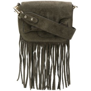 Tila March Ali fringed mini bag - グレー