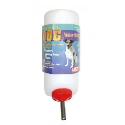 Lixit Small Dog Water Bottle 16oz Dogs - Waterers by Lixit