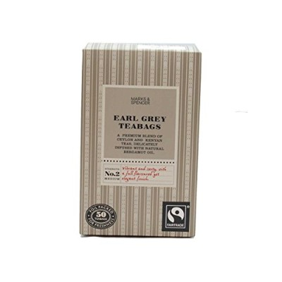Marks & Spencer Earl Grey Teabags 50 Bags (From the UK)