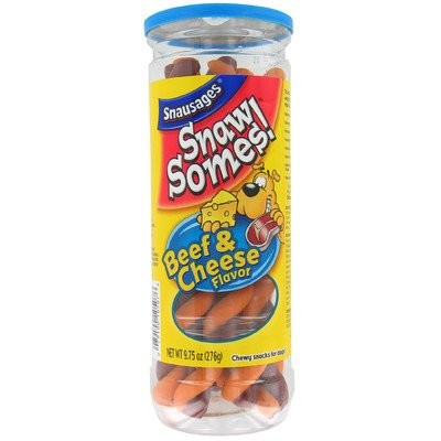 Snaw Somes Beef and Cheese Flavor D-[Set of 10] by Snausages