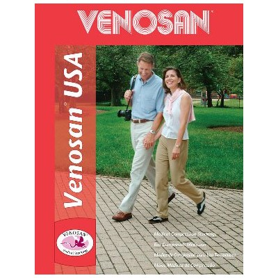 Venosan 2030222H USA 20-30mmHg Thigh High Support Stockings with Silicone Top - Size- Small by...
