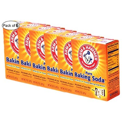 Arm & Hammer–Pure Baking Soda For Scratchlessクリーニング(227g) (パックof 6)