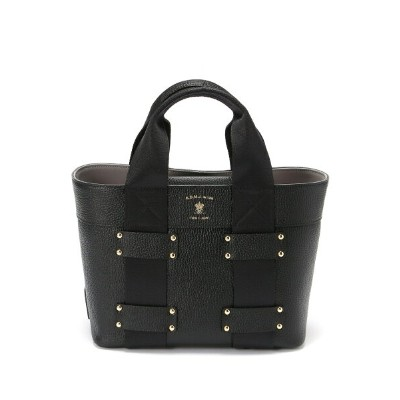 A.D.M.J HIDE SHRINK 25cm TOTE BAG エーディーエムジェイ バッグ【送料無料】