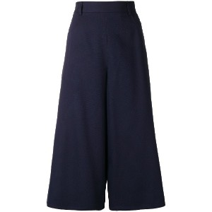 See By Chloé wide-leg culottes - ブルー