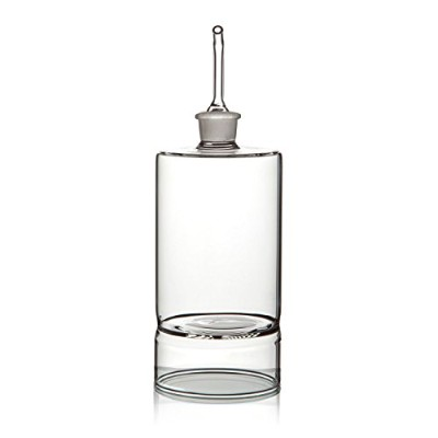 "Ariaモダン7.5 ""オリーブオイルディスペンサー、10オンス、Eco FriendlyリサイクルガラスOil and Vinegar Bottle withガラスPourer , [ 1..."