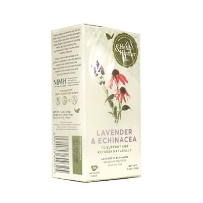 Heath & Heather - Wellbeing - Lavender and Echinacea - 40g (Case of 12)