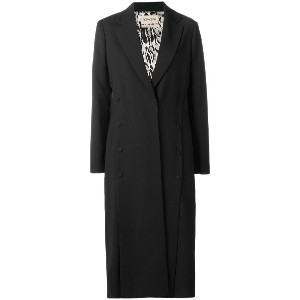 Roberto Cavalli single breasted coat - ブラック