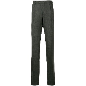 United Arrows regular tailored trousers - グレー