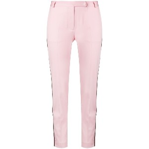 Styland slim-fit trousers - ピンク&パープル