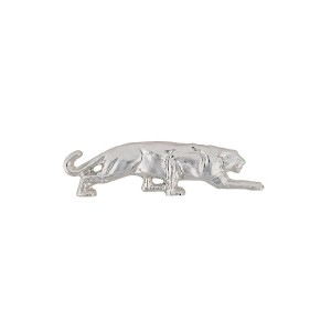 Krizia panther brooch - メタリック