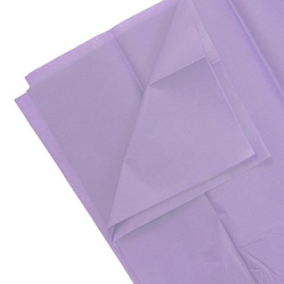 Tissue Paper–1パック10シート&フルReams Pack of 10 Sheets パープル 211515213