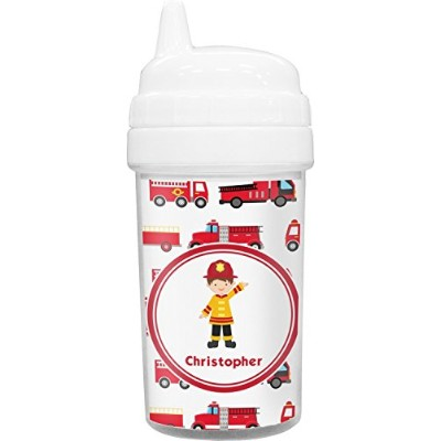 Firetrucks幼児用Sippy Cup ( Personalized )