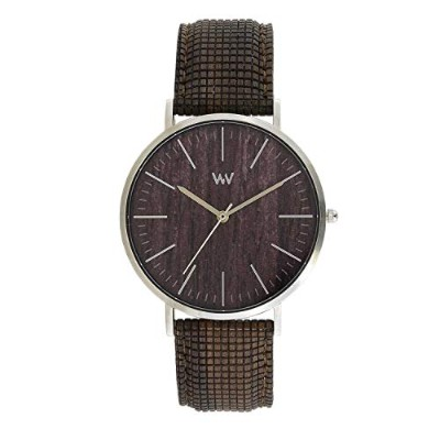 Montre Wewood Helios Choco Silver