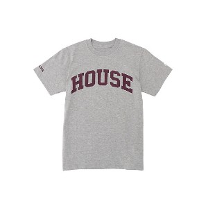 IN THE HOUSE  HOUSE PRIVATE SCHOOL TEE グレー 【三越・伊勢丹/公式】 メンズウエア~~Tシャツ