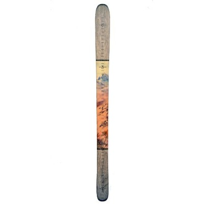 Growth Chart Art Presents: Wooden Ski Growth Chart for Boys & Girls To Measure Height of Kids,...