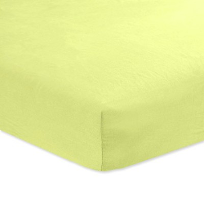 Carter's Sateen Fitted Crib Sheet, Country Green by Carter's
