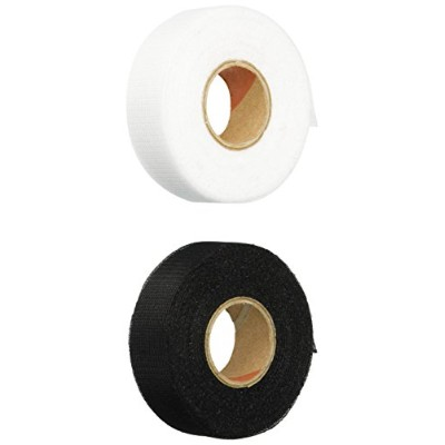 Heat Press Batting Together Hem Tape.75-Inch/10-Yard, Black and White
