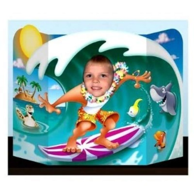 Beistle 57998Surfer Dude Photo Prop、3-feet 1インチby 25-inch