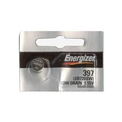 2PC Energizer 397 396 Silver Oxide 1.55V Coin Cell batteries [並行輸入品]