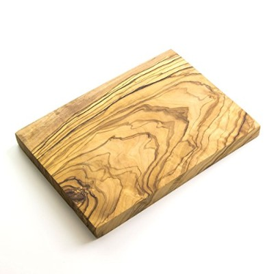 """Rustic Olive Wood Chunky Little Chopping/Cheese/Serving Board - 8"""" x 5.5"""" x 0.75"""""""