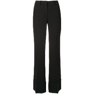 L'Autre Chose tailored trousers - ブラック