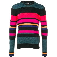 Ps By Paul Smith striped sweater - ブラック