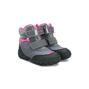 Geox Kids touch-strap boots - グレー