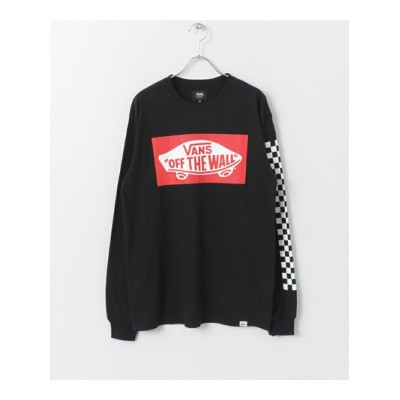 【SALE/20%OFF】Sonny Label VANS HeelPatch LONG-SLEEVE T-Shirts サニーレーベル カットソー【RBA_S】【RBA_E】【送料無料】