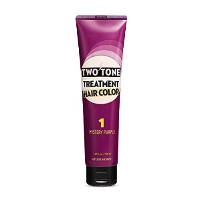 ETUDE HOUSE Two Tone Treatment Hair Color 150ml/エチュードハウス ツートーン トリートメント ヘア カラー 150ml (#1 Mistery...