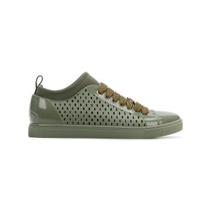 Vivienne Westwood perforated lace-up sneakers - グリーン