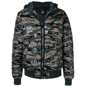 G-Star Raw camouflage puffer jacket - グリーン
