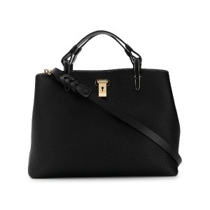 Bally top handle tote - ブラック