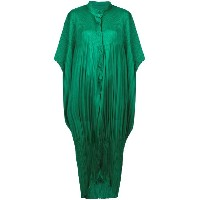 Pleats Please By Issey Miyake oversized pleated jumpsuit - グリーン