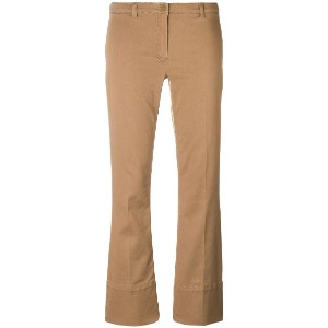 'S Max Mara cropped trousers - ブラウン