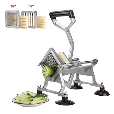 co-z商用グレードアルミ合金Heavy Duty French Fry Cutter &スライサwith SuctionフィートCompleteセット French Fry Cutter with...