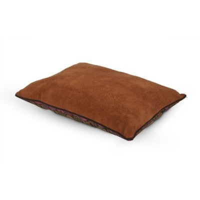 Petmate Fashion Pillow Bed Soft Fabrics Lounger Pet Comfortable Sleep 27inX36in