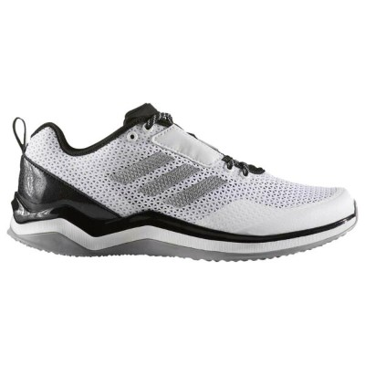 アディダス adidas メンズ 野球 シューズ・靴【Speed Trainer 3.0】White/Silver Metallic/Black