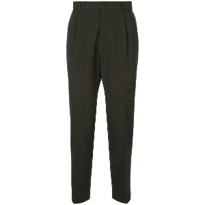 United Arrows tailored suit trousers - グレー