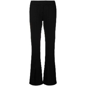 Federica Tosi flared trousers - ブラック