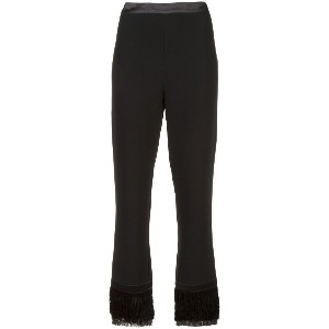 Cinq A Sept cropped tailored trousers - ブラック