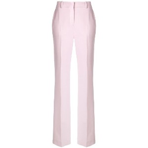 Victoria Victoria Beckham straight-leg tailored trousers - ピンク&パープル