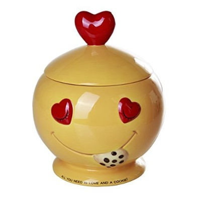All You Need is Love and Cookies Ceramic Cookie Jar 20cm Tall