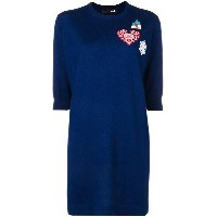 Love Moschino loose fitted dress - ブルー