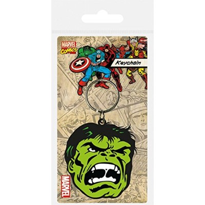The Incredible Hulkキーチェーンキーリングforファン–面(2x 2インチ