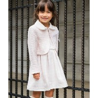 【3can4on(Kids)(サンカンシオン(キッズ))】 【SET商品】格子柄ワンピース&ボレロセット OUTLET > スーツ > その他 ピンク系