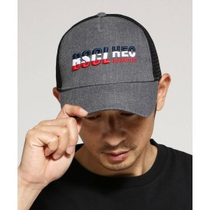 【BASE CONTROL(ベースコントロール)】 キャップ メッシュキャップ 別注 コラボ【BSCL】 OUTLET > 帽子 > キャップ チャコールグレー